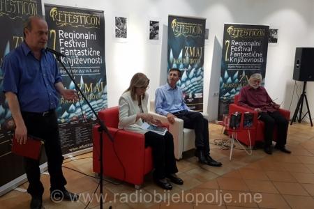 "Jašarević:  ""Zlatni zmaj"" je potvrda mog doprinosa razvoju fantastične književnosti (audio)"