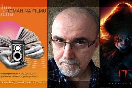 Goran Skrobonja u PAROBRODU govori o romanu na filmu