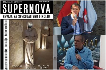Priče dva autora iz Crne Gore objavljene u slovenačkoj zbirci fantastike