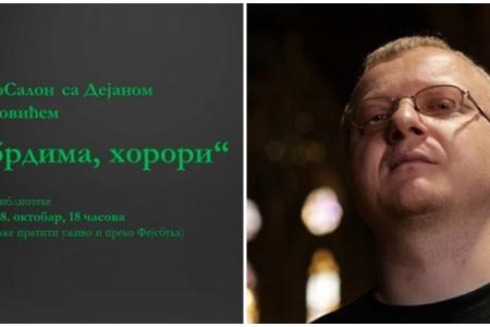Razgovor sa Dejanom Ognjanovićem o horor književnosti